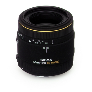 SIGMA 50mm/2.8 EX DG Macro for EOS