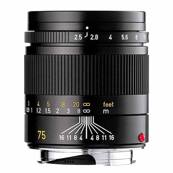 Leica 75mm f2.5 Summarit-M