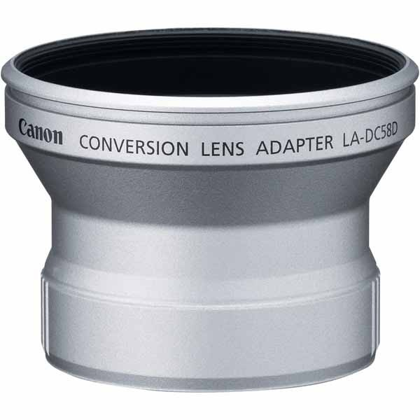 Canon LA-DC58D Conversion Lens Adapter