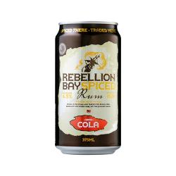 24 x Rebellion Bay Spiced Rum & Cola Cans