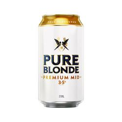24 x1 Pure Blonde Premium Mid Cans