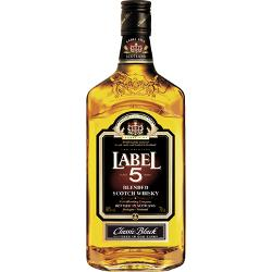 Label 5 Classic Black Blended Scotch Whisky