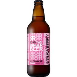 Rose River Strawberry Alcoholic Ginger Beer 500mL