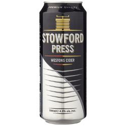 24 x1 Westons Stowford Press Cider Cans 500mL