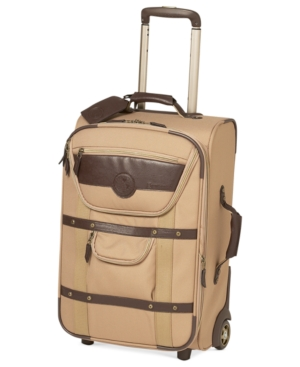 "National Geographic Suitcase, 22"" Kontiki Expandable Rolling Carry On Upright"