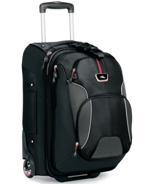 CLOSEOUT! High Sierra Rolling Backpack with Removable Daypack, AT-6 Carry On