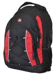 Swiss Alps by Wenger backpack - Black/Red