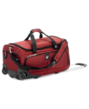 "CLOSEOUT! Delsey Rolling Duffel, 21"" Helium Ultimate Carry-On"