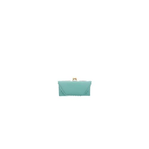 ASOS Frame And Ball Purse With Scallop Edge - Mint