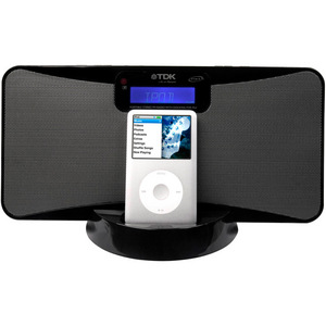 TDK iSlim iPod Docking Station - Black - 0AK40040