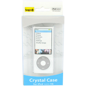 Logic 3 Crystal Case for iPod nano 5G