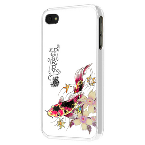 Ed Hardy iPhone4 Case Tatoo Koi White
