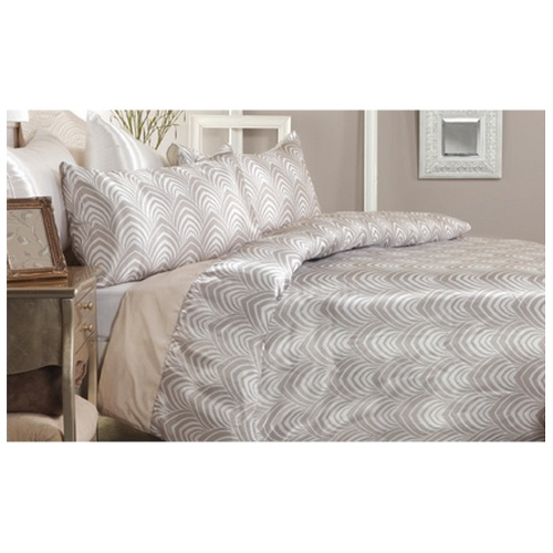 Windsor Faux Silk | Queen quilt cover set by Bambury
