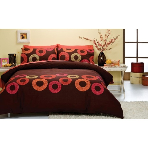 Spiral | Queen Quilt Cover Set by Sleeping Beauty
