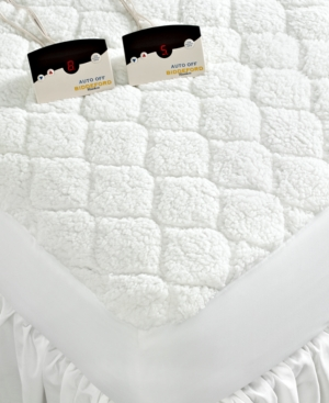 Biddeford Bedding, Sherpa Heated Twin Mattress Pad Bedding
