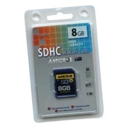 MEMORY CARD SDHC SECURE CLASS 6 8GB