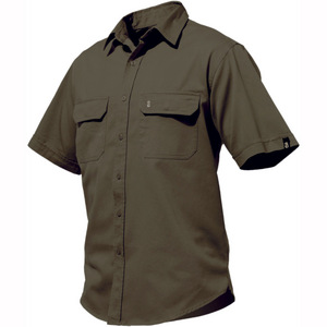 Worn G's Short Sleeve Shirt - Green - Medium