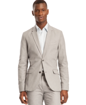 Kenneth Cole Reaction Jacket, Slim Fit Two Button Blazer