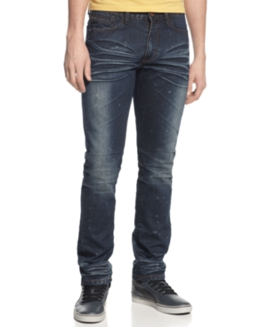 Ring of Fire Jeans, Longfellow Slim Tapered Leg Jeans in Coldwater Canyon