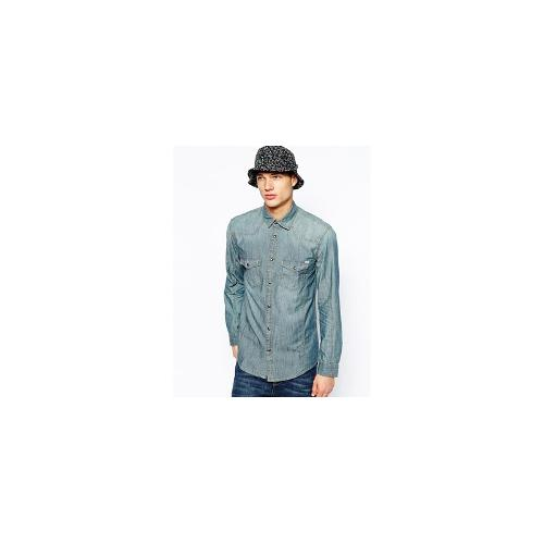 Jack and Jones Shirt Denim - Grey