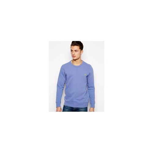Paul Smith Jeans Sweatshirt with Zebra Logo - Blue