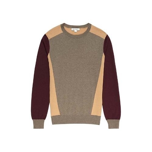 Reiss Cyclone SWEATER WITH CONTRAST SLEEVE