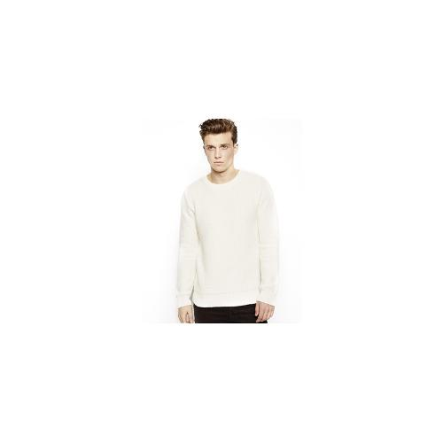 Selected Textured Jumper - White
