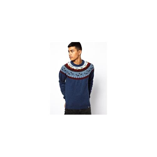 Bellfield Duck Jumper - Navy marl