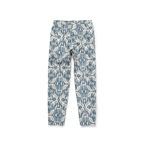 Hentsch Man Tapered Printed Cotton-Canvas Trousers