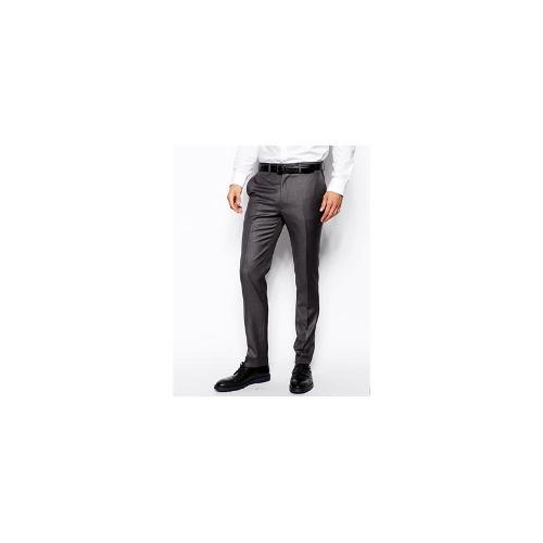 French Connection Slim Fit Suit Trouser Grey