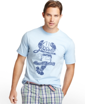 Izod Shirt, Lobster Graphic T-Shirt
