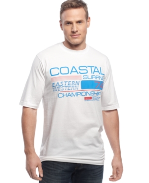 Izod Big and Tall Shirt, Coastal Graphic T-Shirt