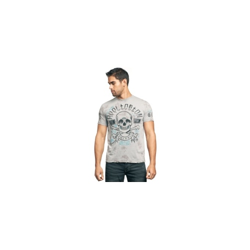 Affliction Shirt, Medicine Short Sleeve Graphic T-Shirt