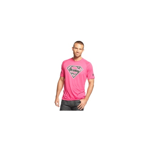 Under Armour Shirt, Alter Ego Power in Pink Superman T-Shirt
