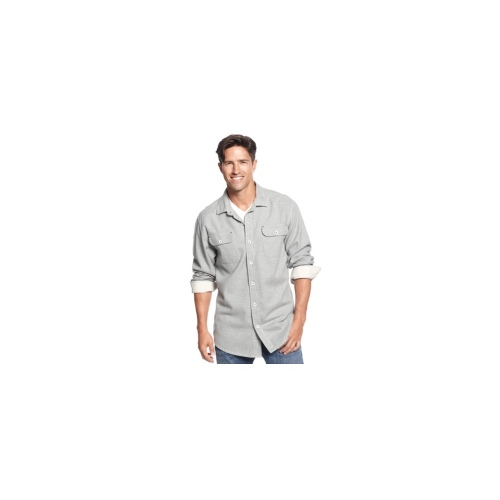 Tommy Bahama Shirt, Long Sleeve West Shore Flannel Shirt
