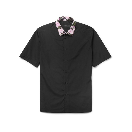 Givenchy Roses-Print Short-Sleeved Shirt