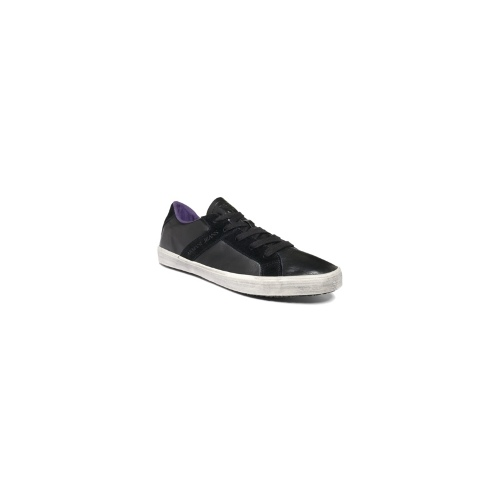Armani Jeans Shoes, Leather Low Top Sneakers Men's Shoes