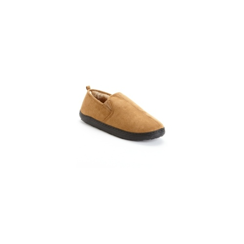 Club Room Men's Slippers, Suede Slip On Paul