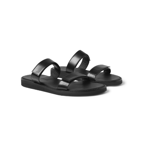 Ann Demeulemeester Strapped Leather Sandals