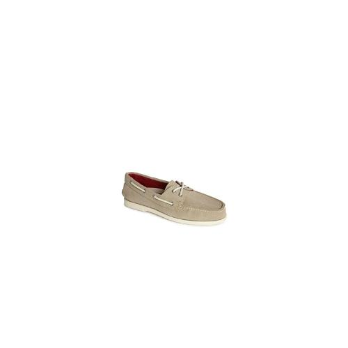 Sperry Topsider Canvas Boat Shoes - Beige
