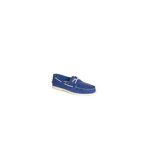 Sperry Topsider Canvas Boat Shoes - Blue