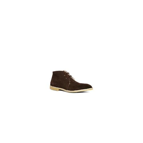 Frank Wright Suede Desert Boots - Brown