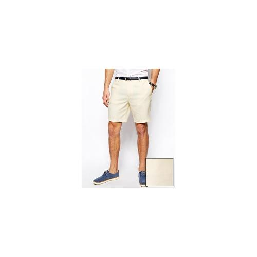 ASOS Slim Fit Shorts In Oxford