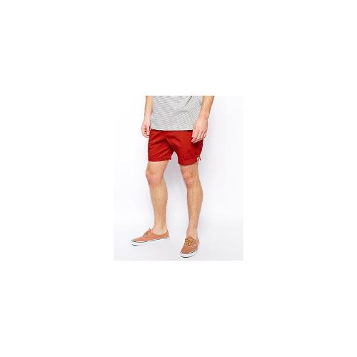 Farah Vintage Shorts with Taped Rolled Hem
