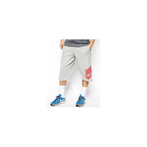 Nike Long Basketball Shorts - Grey