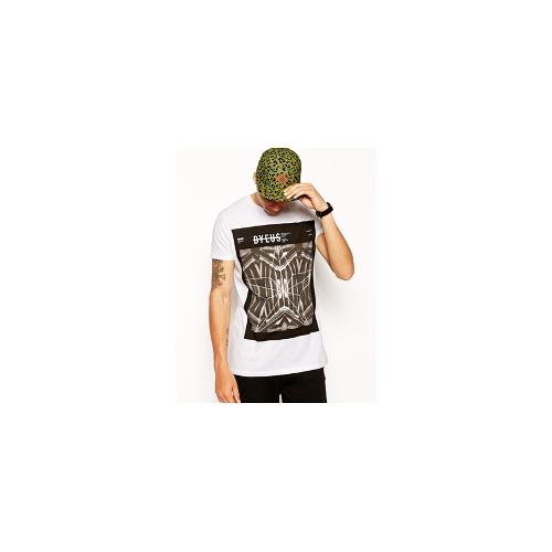 ASOS Longline T-Shirt With Graphic Print And Skater Fit