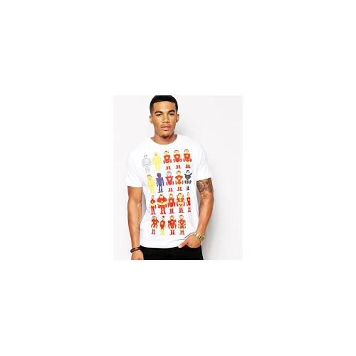 Threadless Iron Man Armors T-Shirt - White