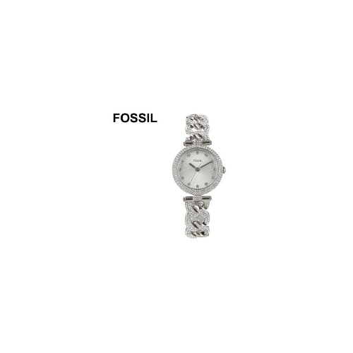 FOSSIL Olive Diamante Stainless Steel Ladies Watch