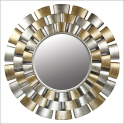 Madras Link - Aria Mirror in Gold and Silver - Mirrors