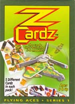 Z Cardz Flying Aces Series 1 5 Pack Item No. 87070